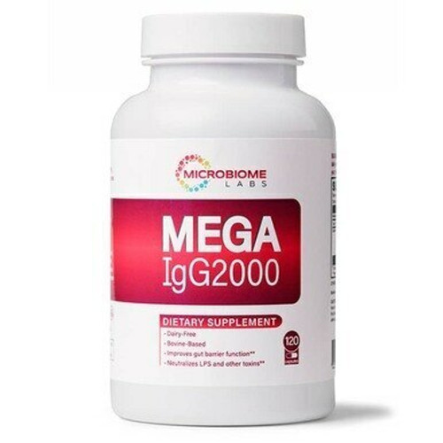 Microbiome Labs MegalgG2000 - 120 Capsules