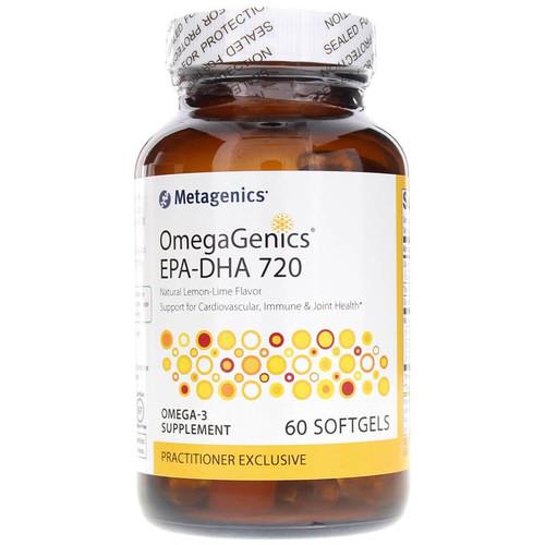 Metagenics OmegaGenics EPA-DHA 720 - 60 Softgels