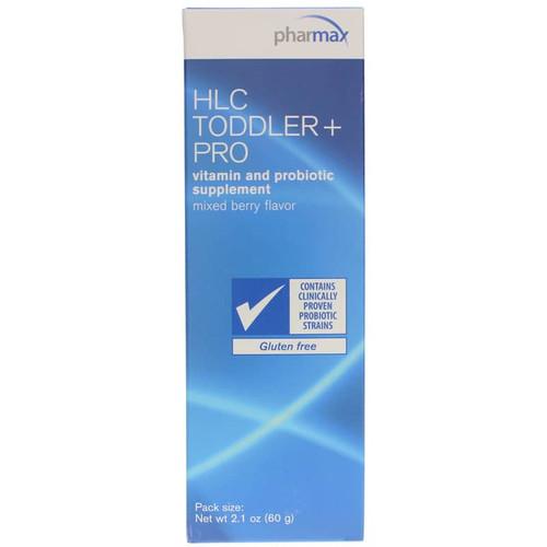 Pharmax HLC Toddler + Pro Vitamin & Probiotic - 2.1 Oz