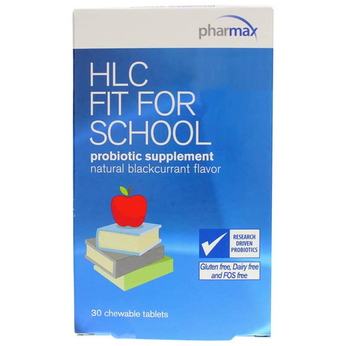 Pharmax HLC Fit For School Probiotic - 30 Chewable Tablets