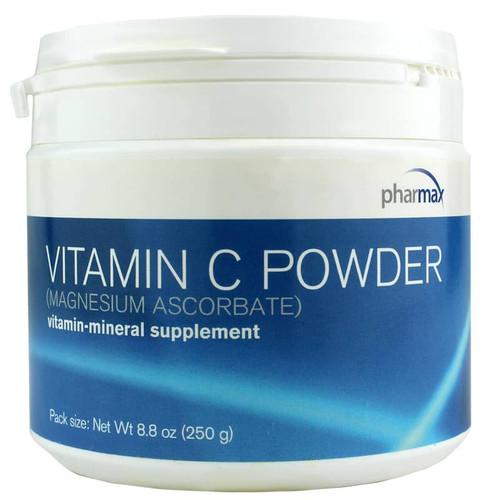 Pharmax Vitamin C Powder (Magnesium Ascorbate) - 8.8 Oz