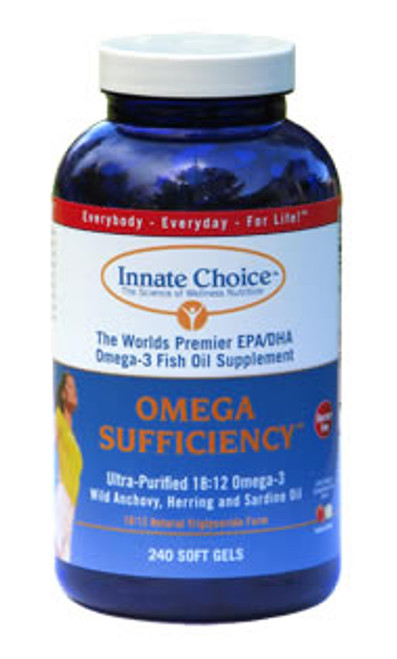 Omega Sufficiency 240 Strawberry/Lime Capsules by Innate Choice