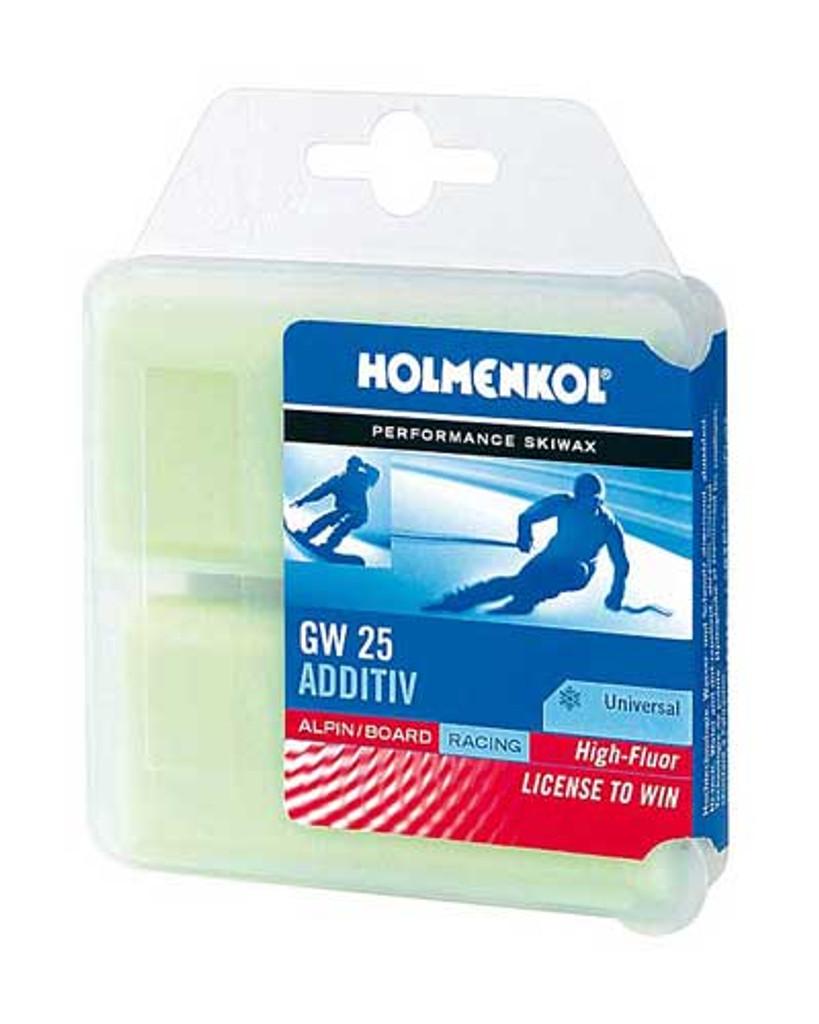 Holmenkol GW 25 Fluoro Additive Wax