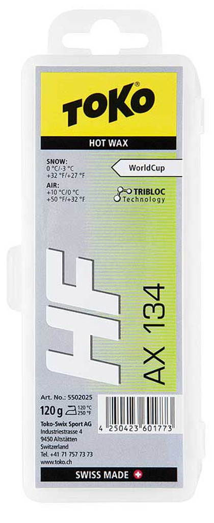 Toko Tribloc HF AX 134 Hot Wax