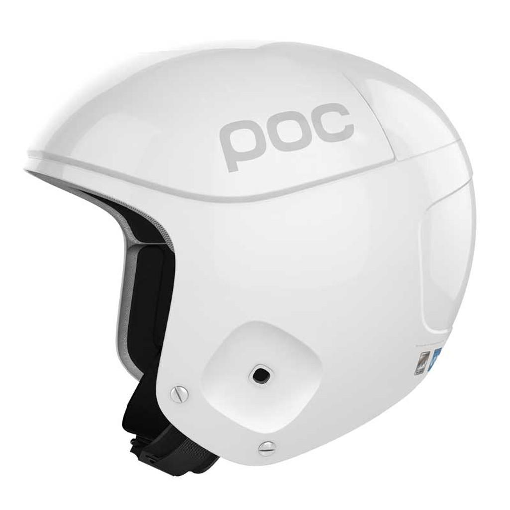 POC Skull Orbic X Helmet FIS Legal Ski Helmet in Hydrogen White