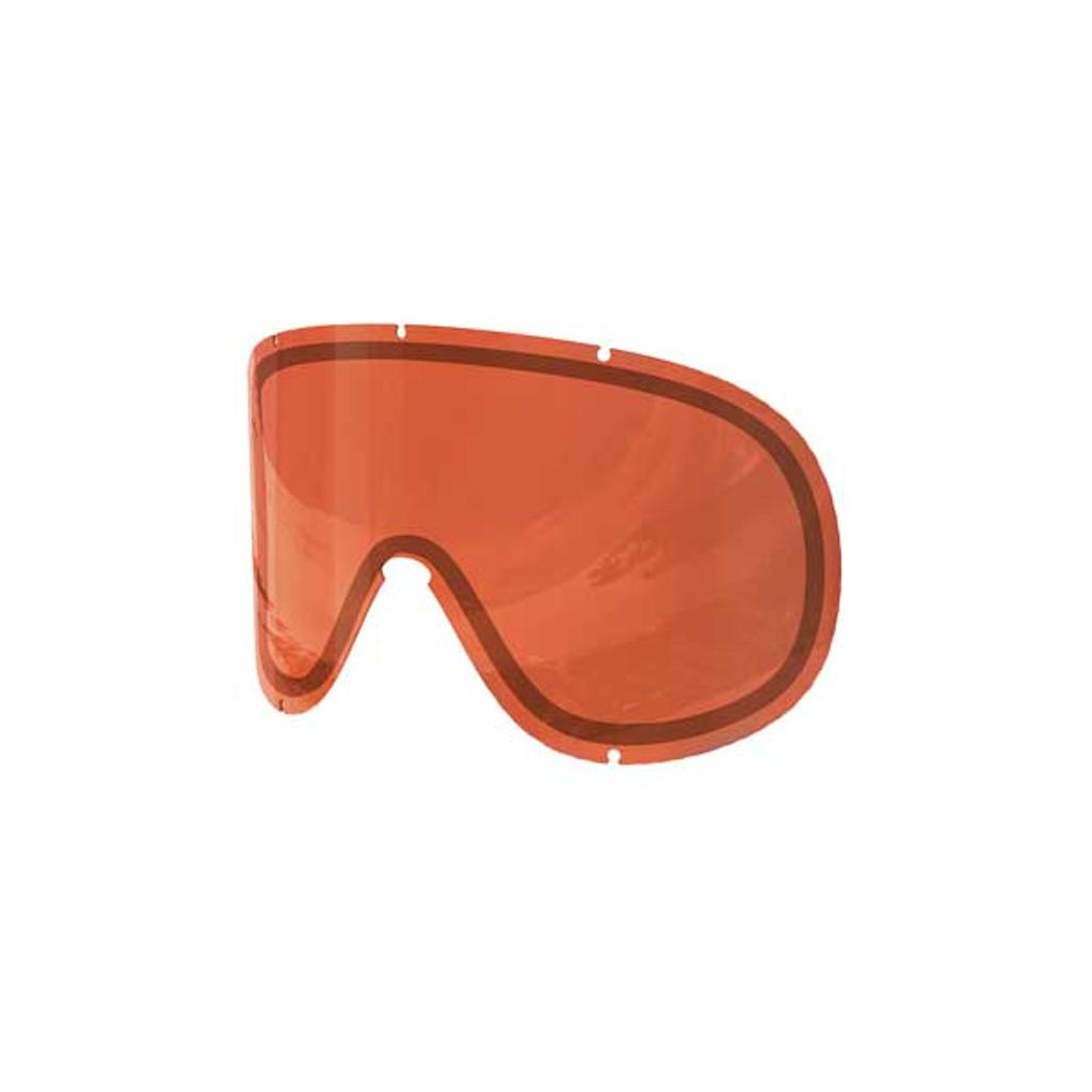 POC Retina Big Double Spare Lens - Sonar Orange