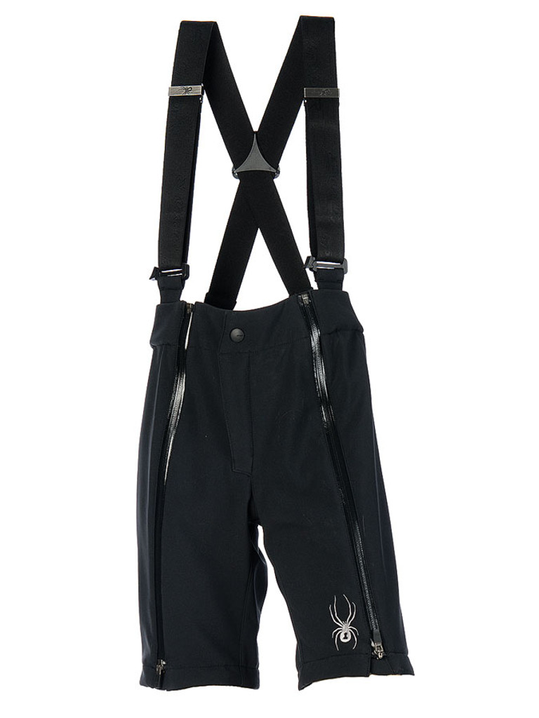 Kid's Softshell Training Shorts - Front View