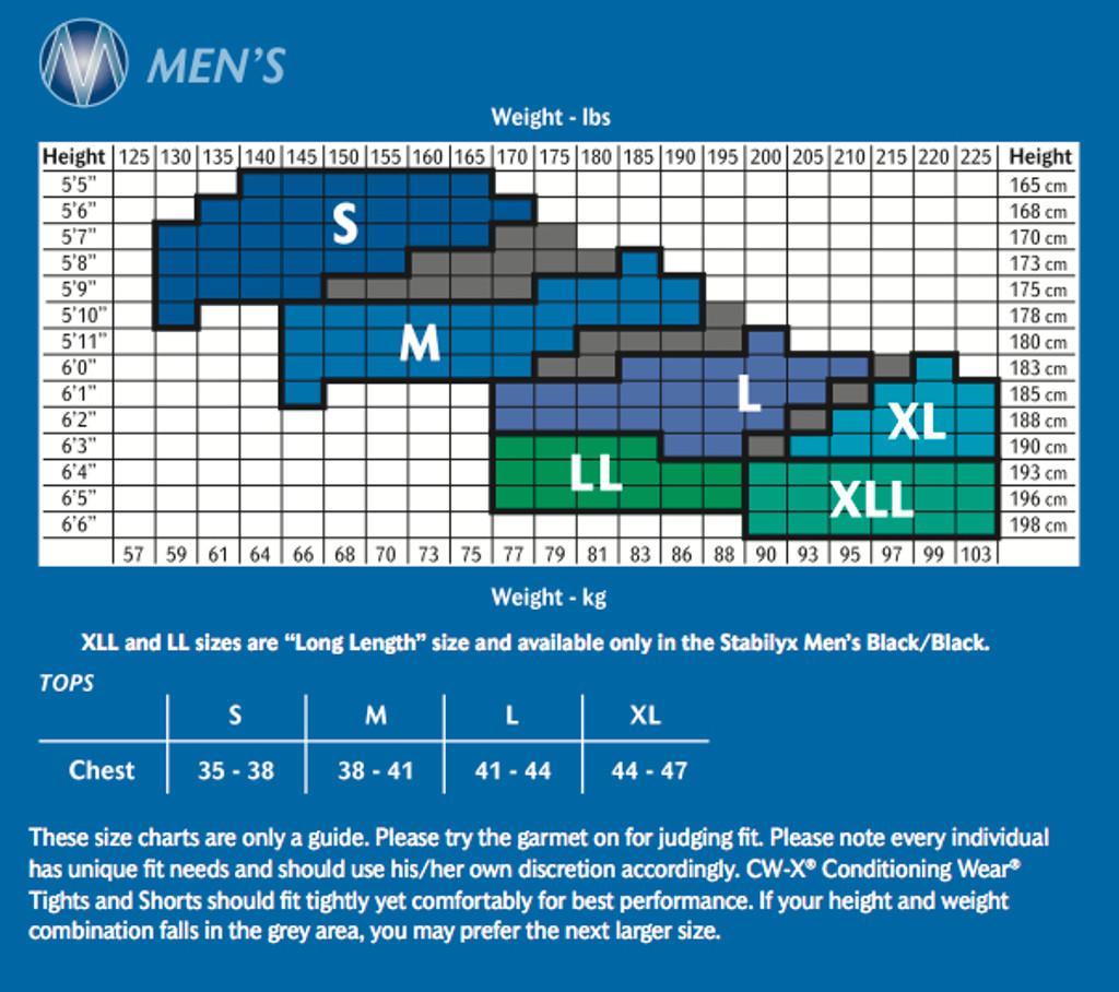 CW-X STABILYX ¾ TIGHTS - Mens