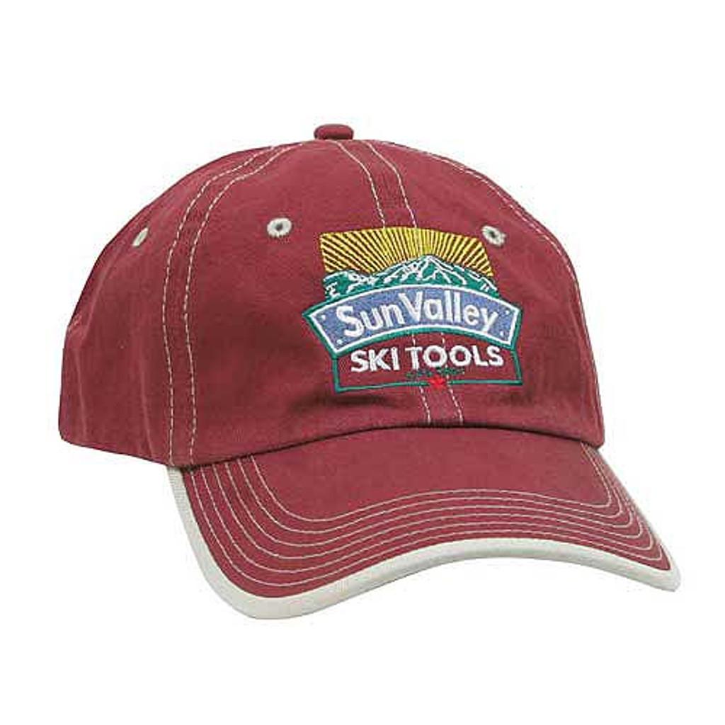 Sun Valley Ski Tools Logo Hat - Red
