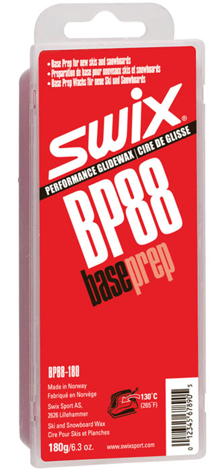 Swix BP88 Base Prep Wax 180g.