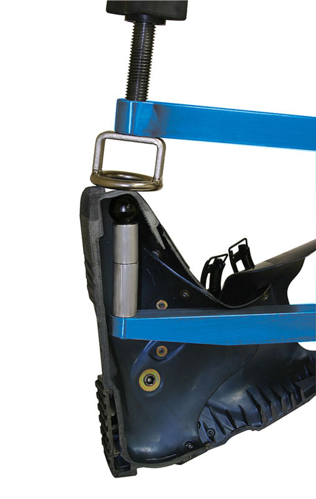 Boot Press Close Up