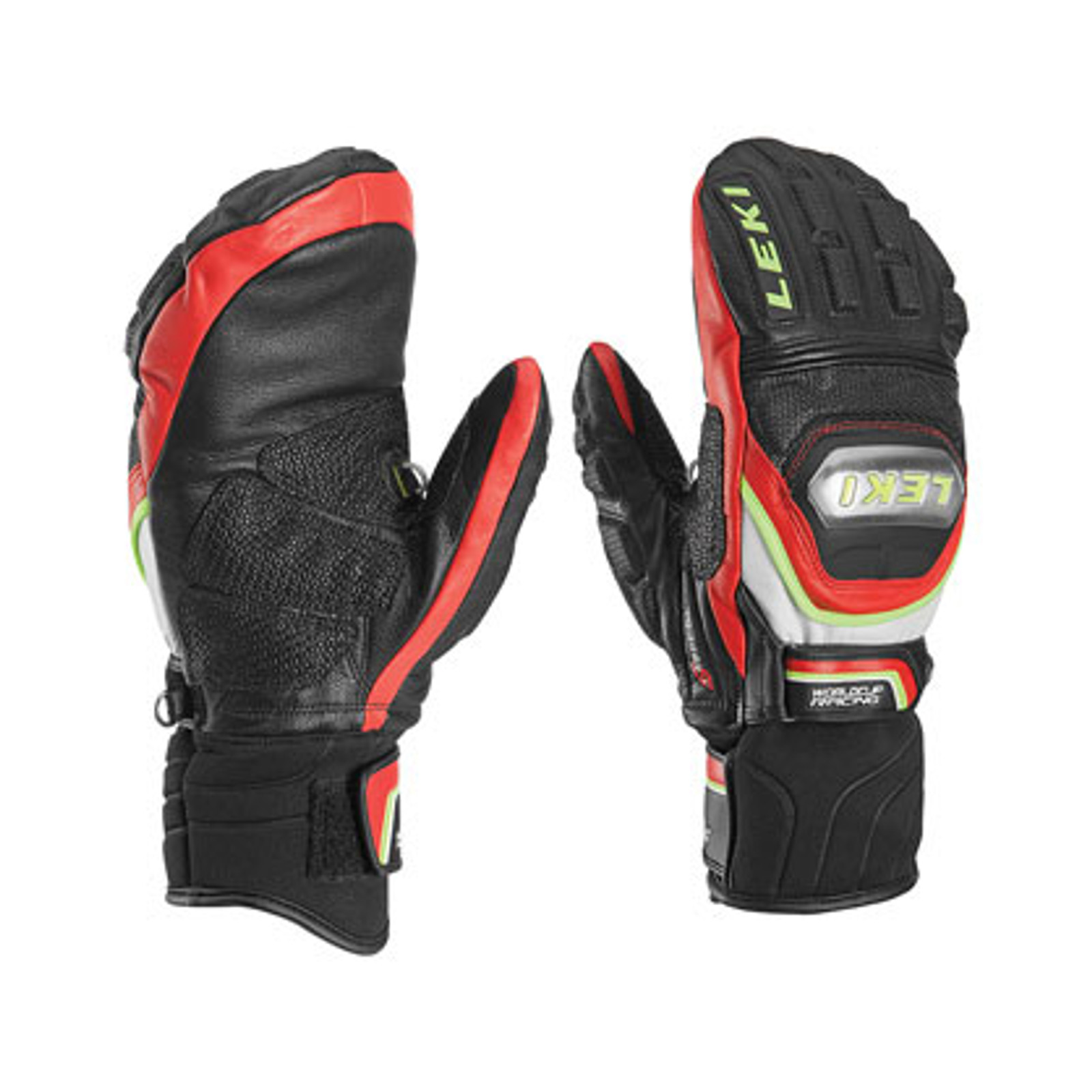 Leki World Cup Race Titanium S Mittens - Black/Red