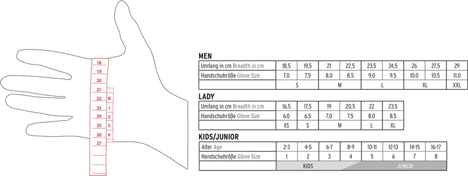 Leki World Cup Coach Flex S GTX Jr Mittens
