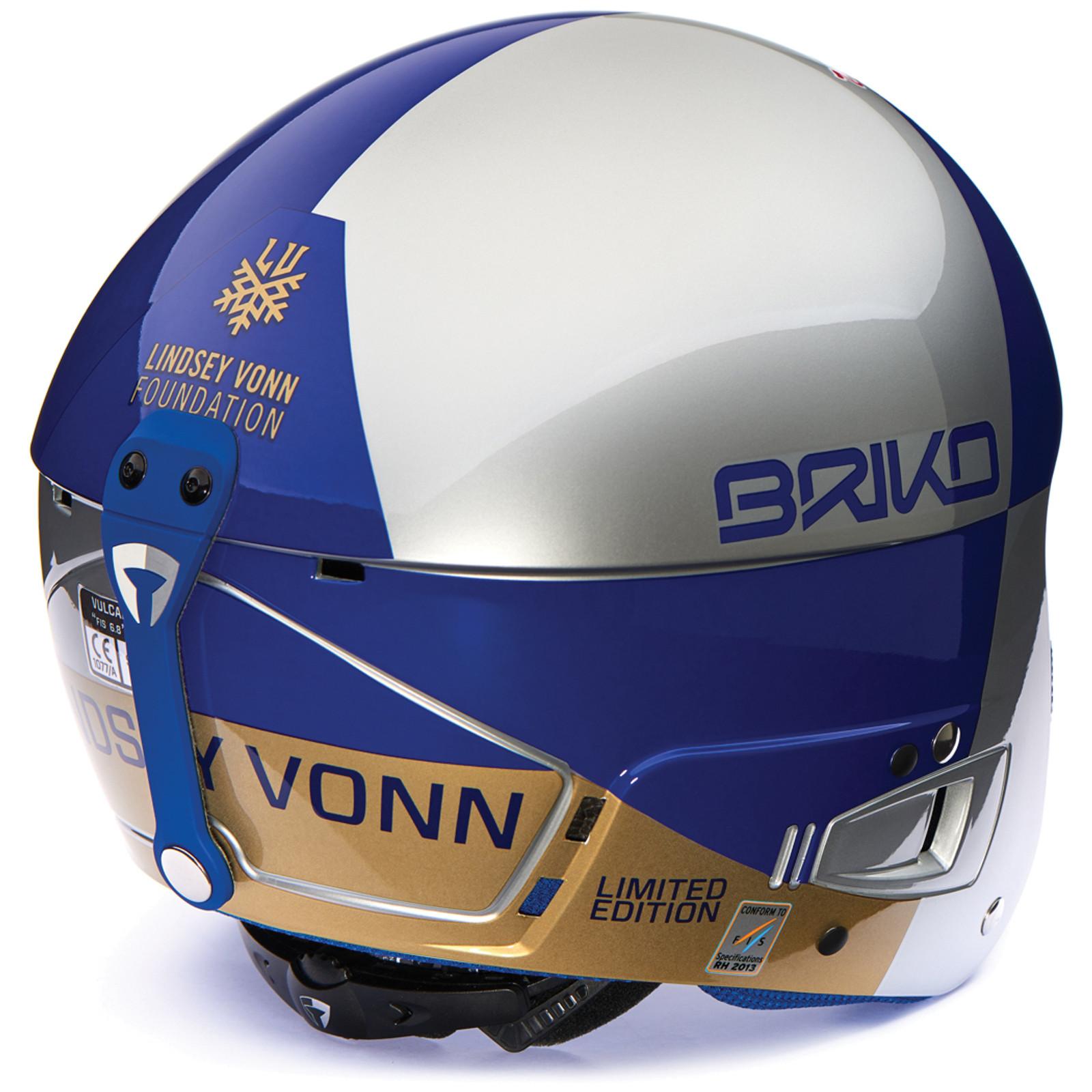 Briko Lindsey Vonn Vulcano FIS Helmet