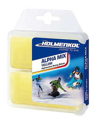Holmenkol Alpha Mix Yellow Wax