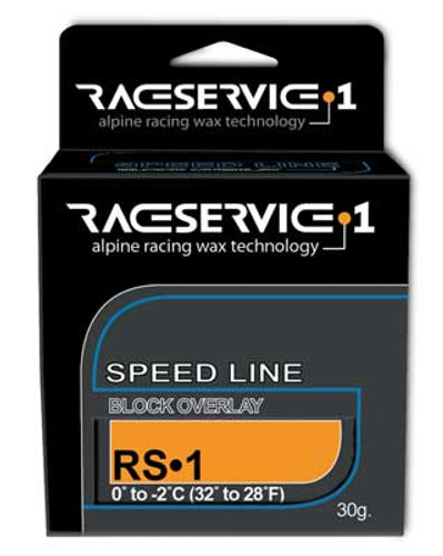 RaceService 1 RS-1 Racing Solid Overlay