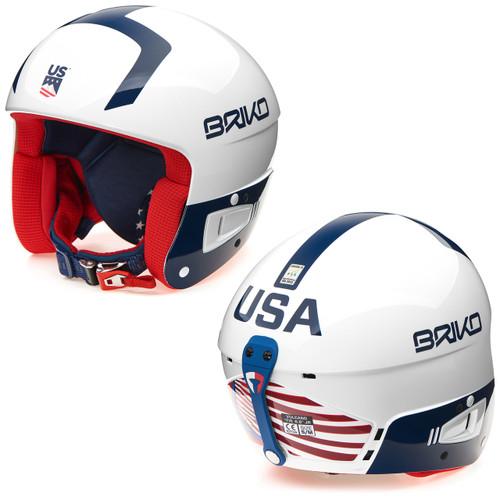 Briko Vulcano FIS JR USA Helmet