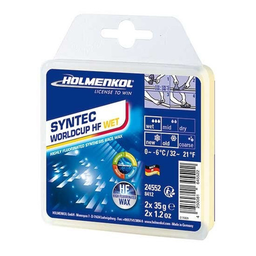 Holmenkol Wax - Syntec World Cup HF