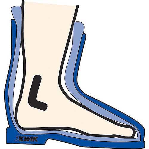 """""""L"""" Pads Boot - 2 pair"""