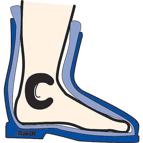 """C"" Pads Boot- 2 pair"