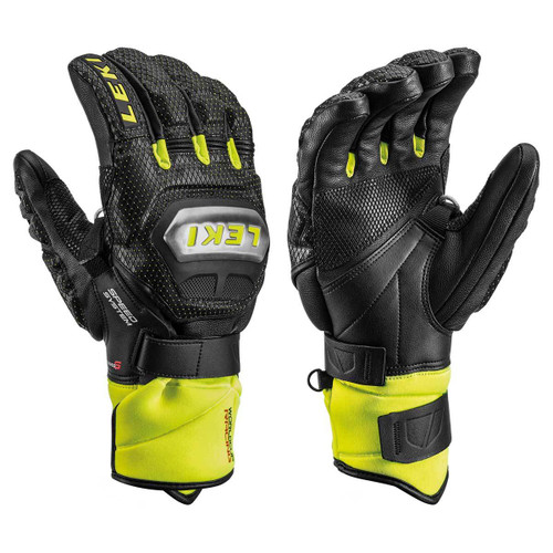 Leki WORLD CUP RACING TITANIUM S Glove Black/Lemon