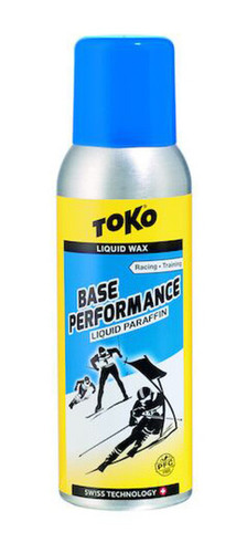 TOKO LIQUID BASE PERFORMANCE PARAFFIN WAX, 125ML