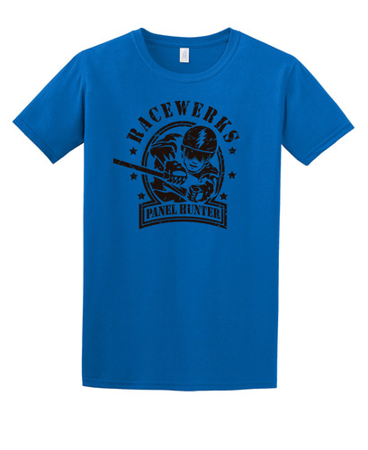 Race Werks Panel Hunter T-Shirt *Blue*