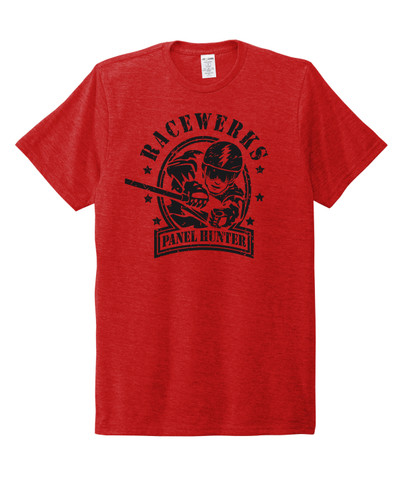 Race Werks Panel Hunter T-Shirt *Red*