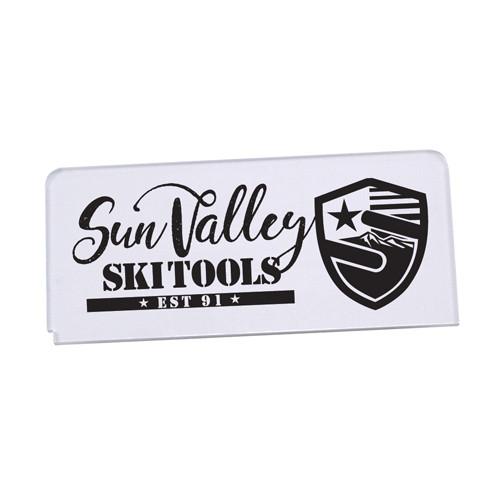 "SVST Clear Acrylic 6"" 6mm Wax Scraper"