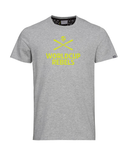 Head Rebels Race T-Shirt -GREY