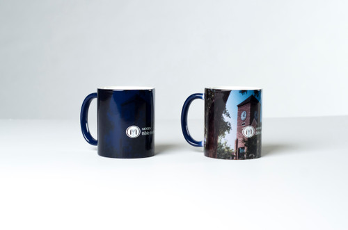 This mug changes into our beloved clock tower, just add hot water! Think of Moody when you have your morning coffee!