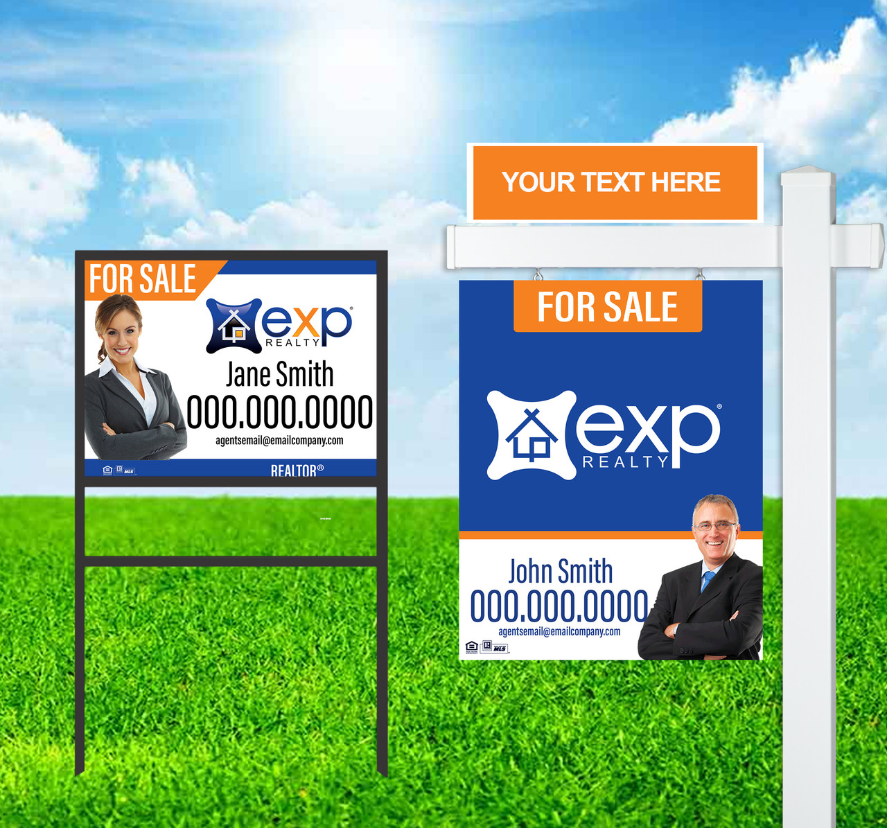 Exp Realty Sign Units