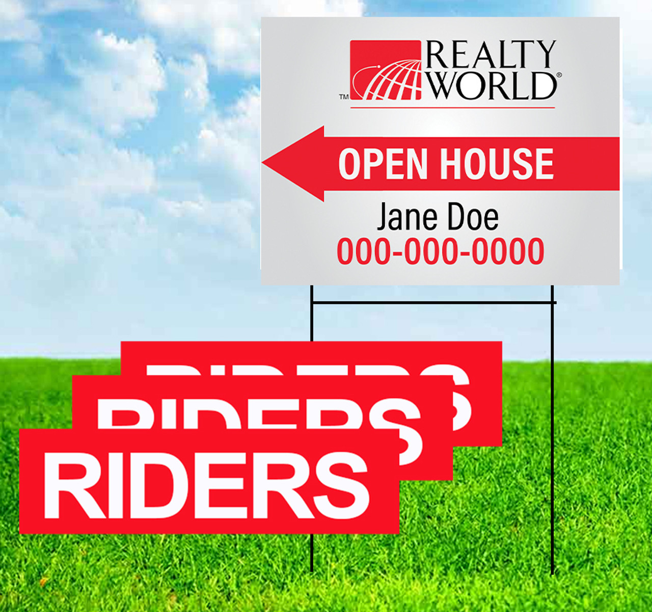 Realty World Open House and Riders