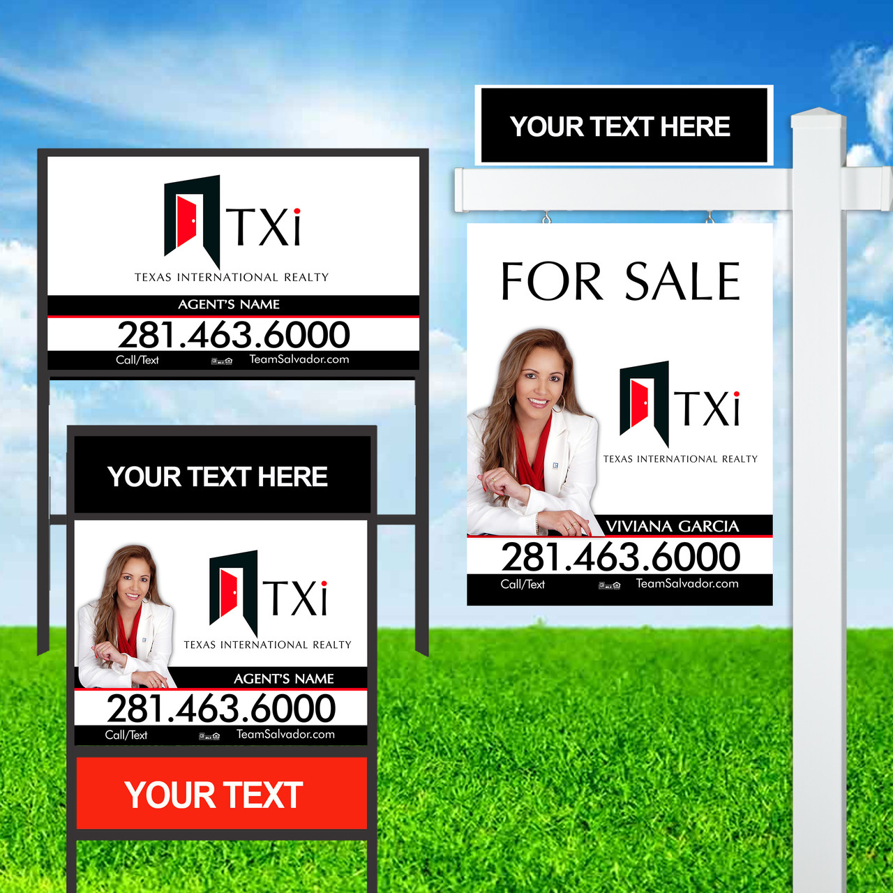 TXI Sign Units