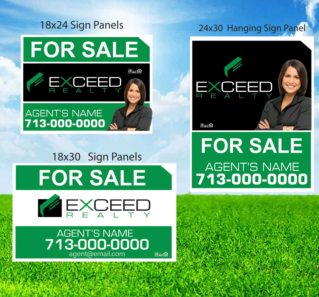 Exceed Sign Panels