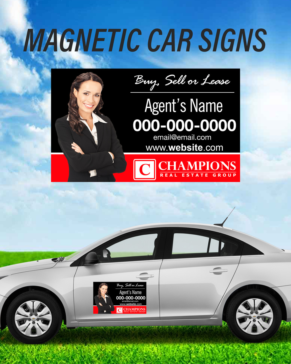 14x24 Car Magnets