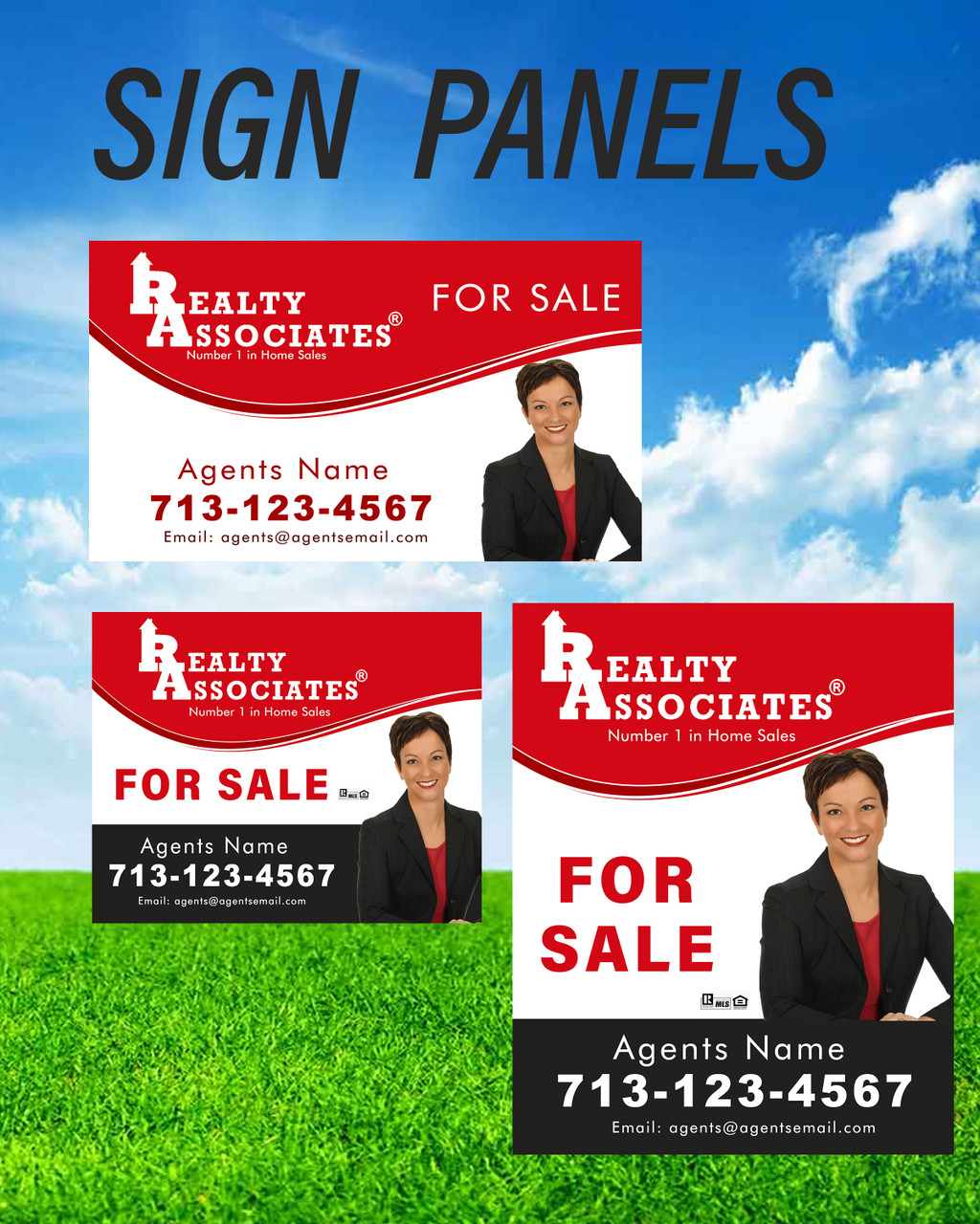 Realty Associates Sign Panels