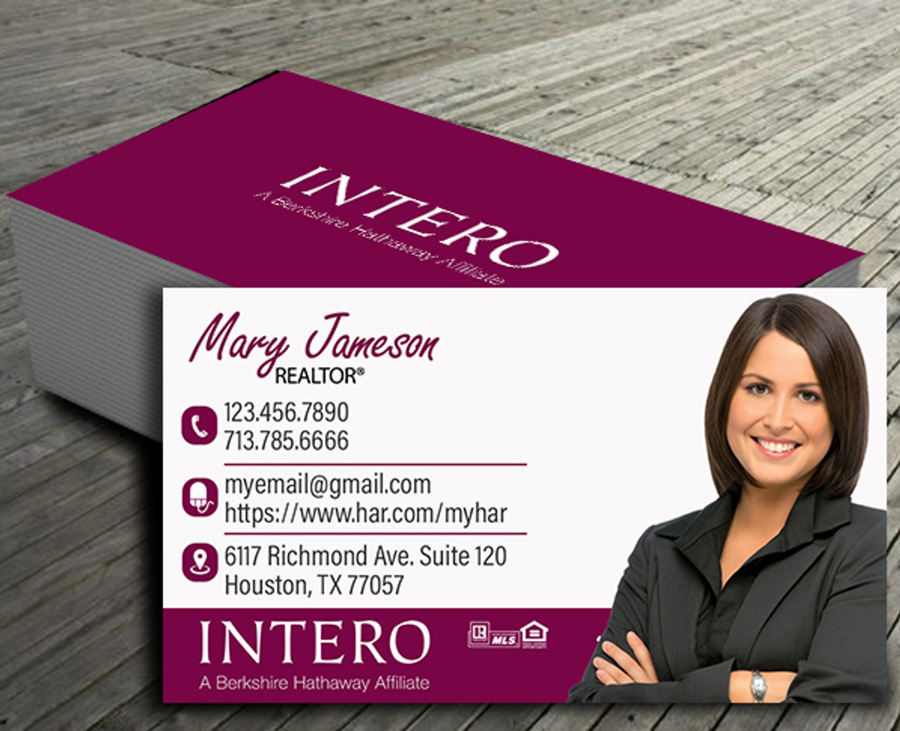 Intero Business Cards