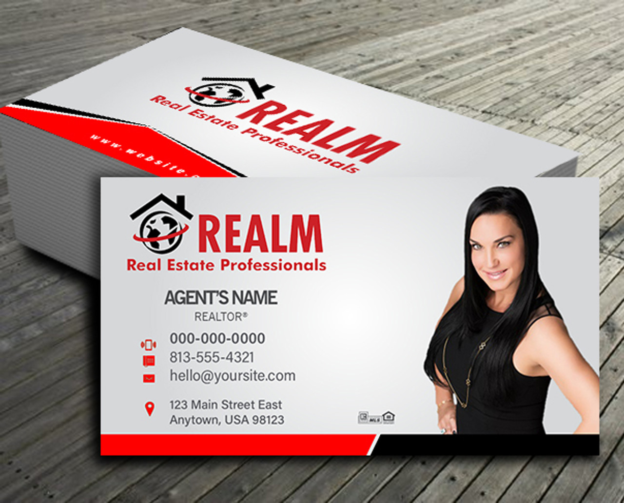 Realm Business Cards