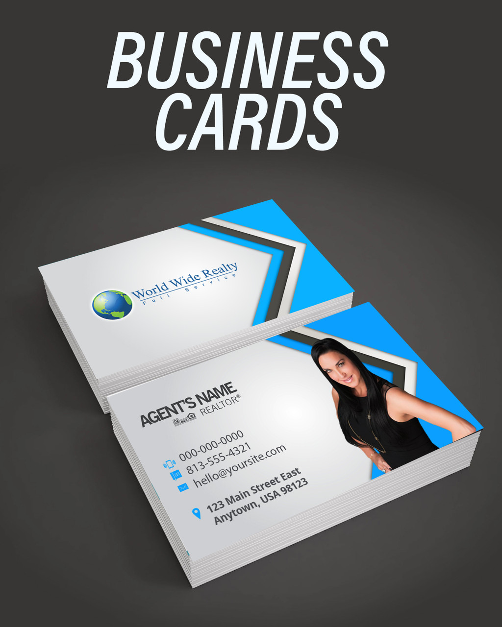World Wide Realty Business Cards
