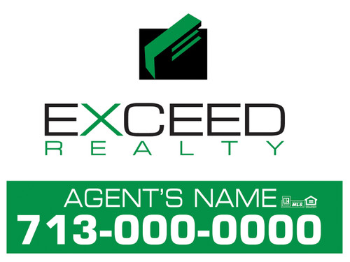 Exceed Panel sign 1