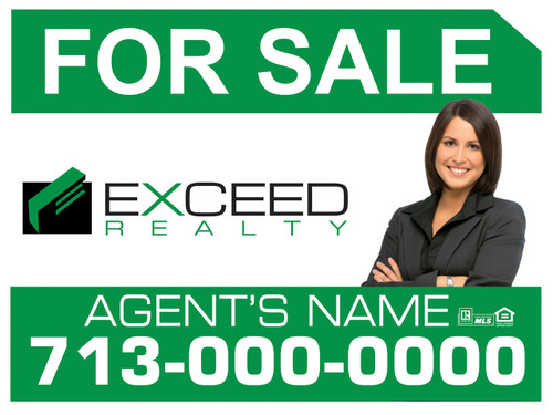 Exceed Panel sign 4