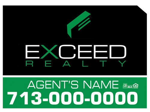 Exceed Panel sign 5
