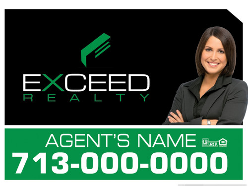 Exceed Panel sign 6