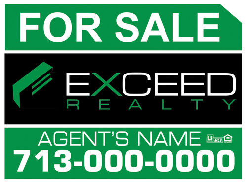 Exceed Panel sign 7