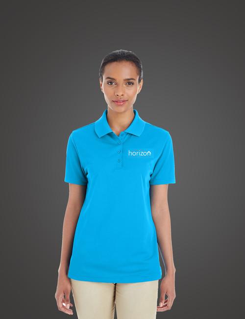 Horizon Embroidered Women's Polo Shirt