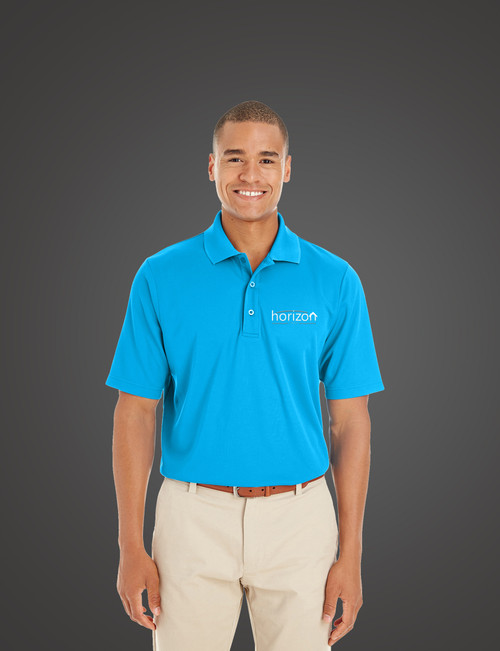 Horizon EmbroidereD Men's Polo Shirt