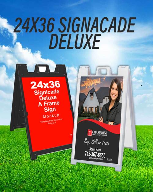 CREG  24x36  Deluxe Signacade