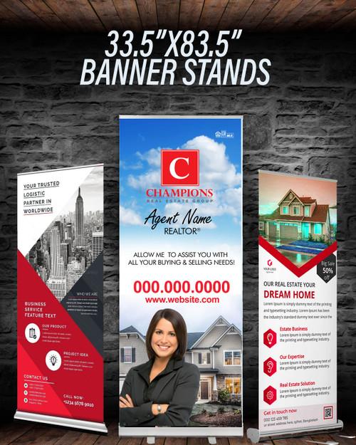 CREG Retractable Banner Stand