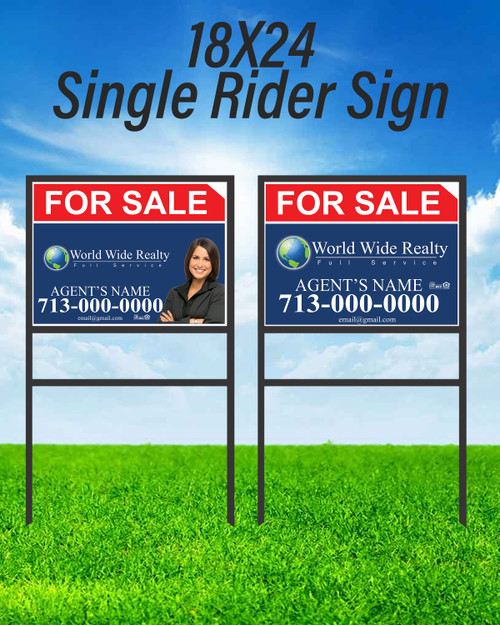 WWR Single Rider Sign Unit